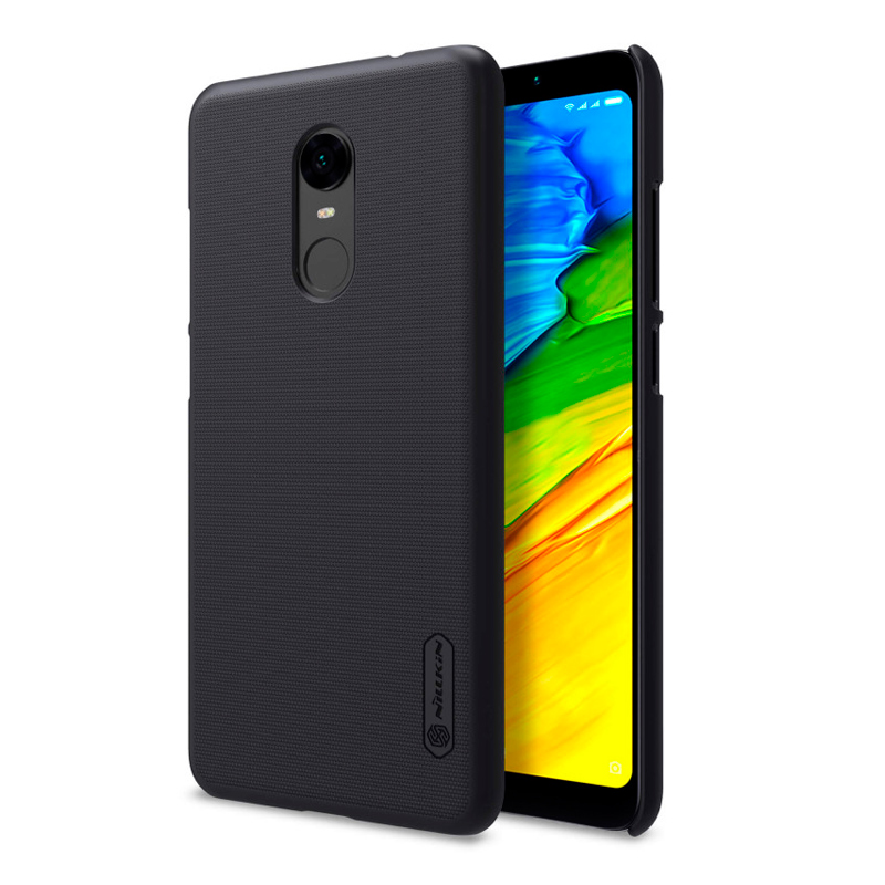 Nilkin Super Frosted Shield պաշտպանիչ պատյան Xiaomi Redmi 5 Plus-ի համար black 1