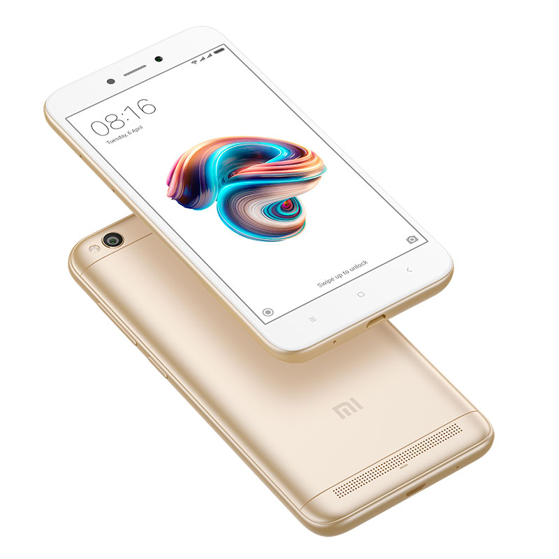 Redmi 5A gold 9